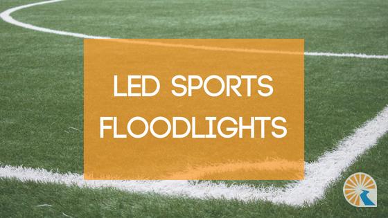 led sports floodlights