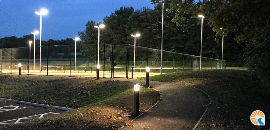 security floodlight system