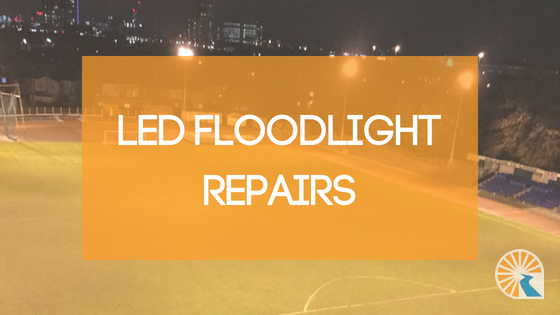 floodlight repairs by Surfacelux