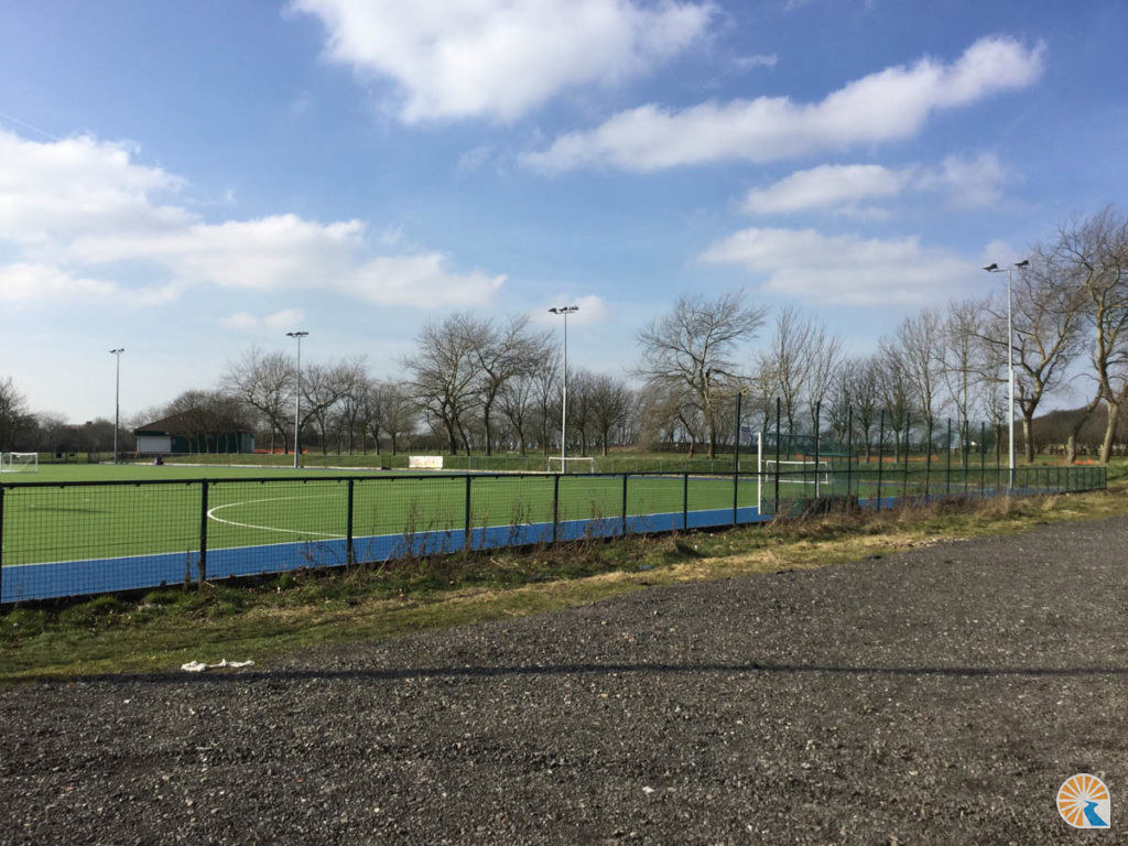 Hockey Pitch lighting and civils at Crosby - Liverpool