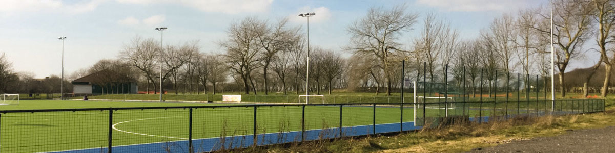 Sports field lighting solution
