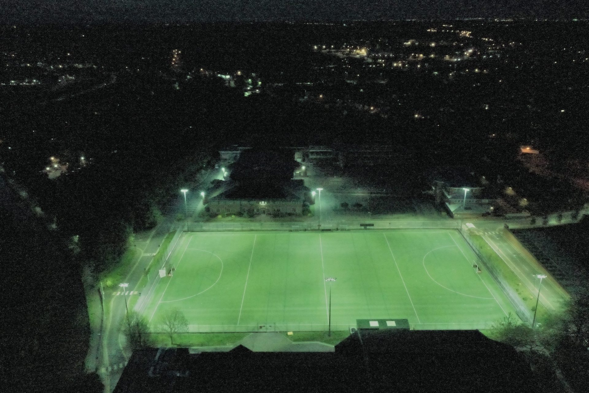 University of Chester LED Floodlight Sport Lighting