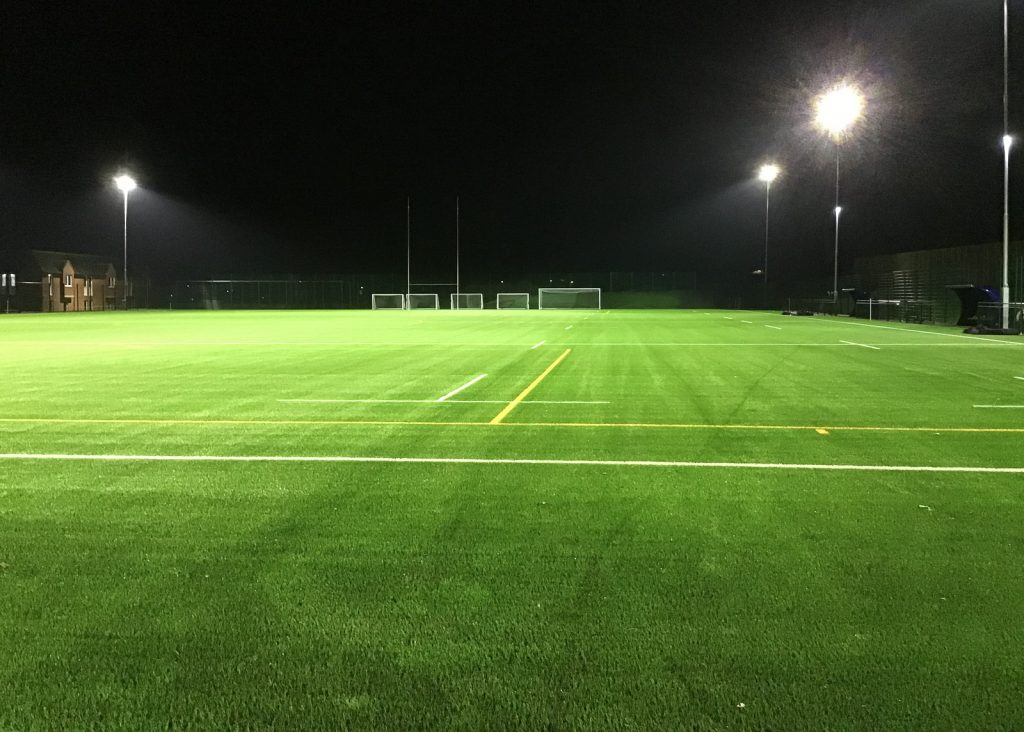Floodlit pitch in Maidstone