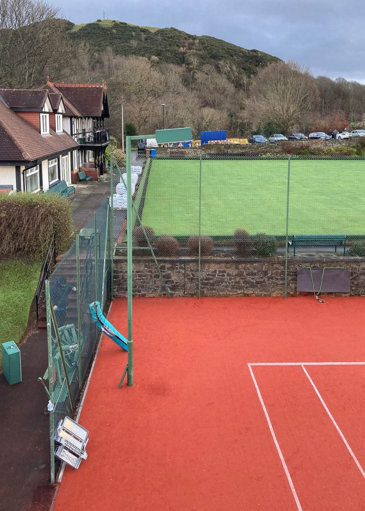 Replacement LED sports lighting in Edinburgh