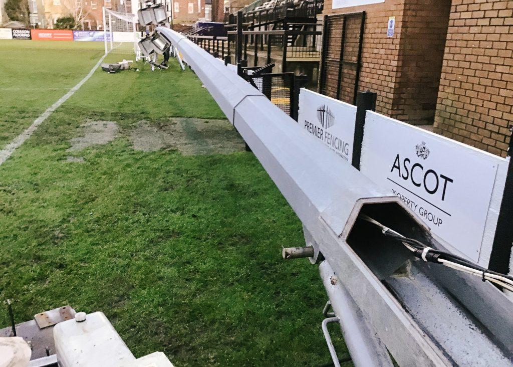 Floodlight upgrades at football club in Crosby