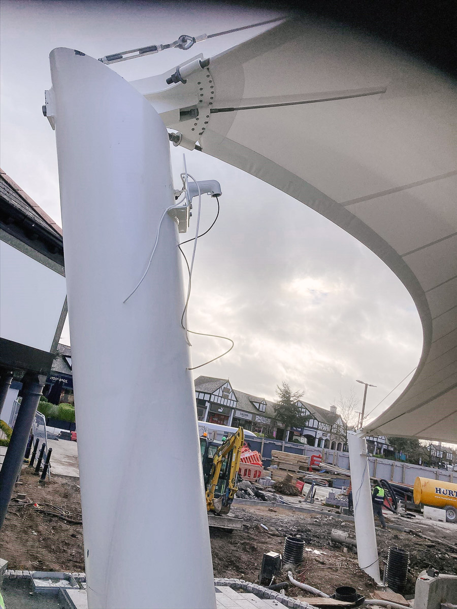 PA and CCTV installation at Cheshire Oaks