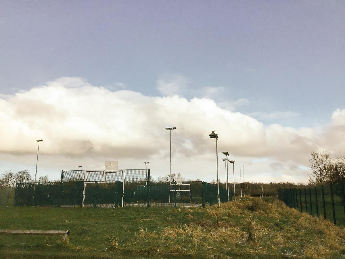 Sports floodlight maintenance in Wigan