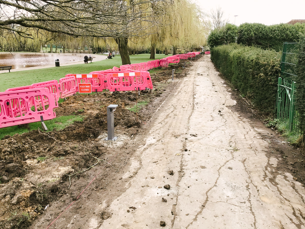 Local Authority LED Area Lighting Bollards Project
