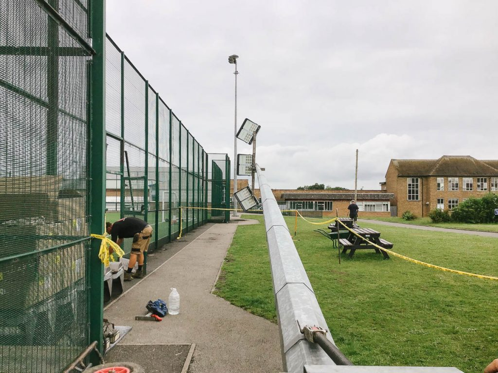 Replacing Christy floodlight system with LED