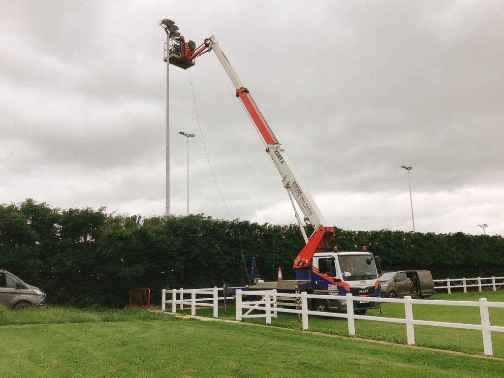 Milton Keynes LED Floodlight upgrades
