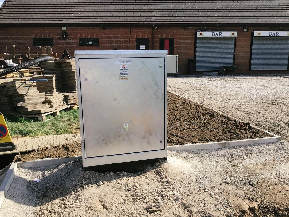 Lighting distribution cabinet in Derby